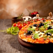 72. Pizza Funghi