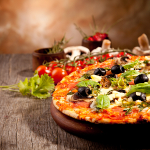 321. Pizza Gamberi
