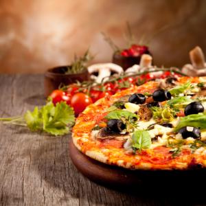 90. Pizza Caprese