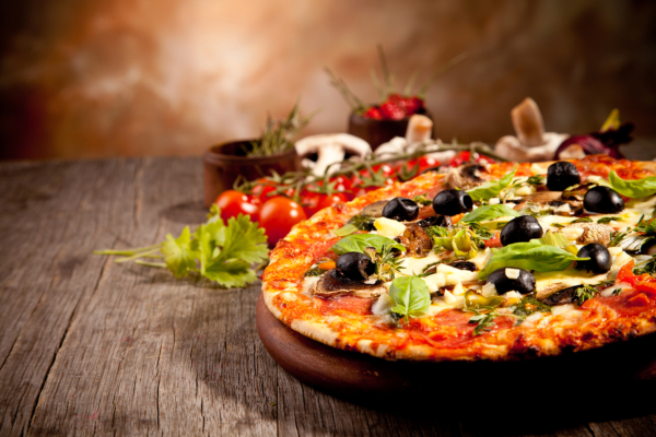 91. Pizza Bresaola